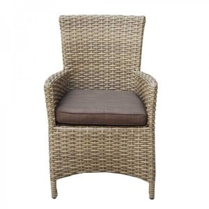 Signature Weave Garden Furniture Darcey High Back Dining Chair