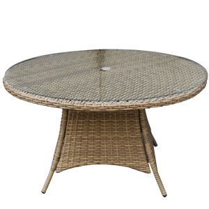 Signature Weave Garden Furniture Darcey 100cm 4 Seater Dining Table