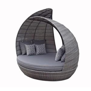 Signature Weave Garden Furniture Celine Grey Daybed