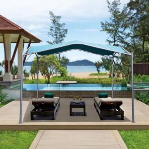 Signature Weave Garden Furniture Swan Gazebo 3.5m