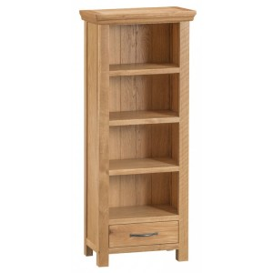 Stirling Oak Furniture CD DVD Rack