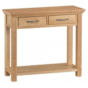 Stirling Oak Furniture Console Table