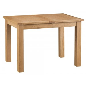 Stirling Oak Furniture 1.15m Butterfly Extending Table