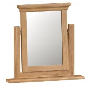 Stirling Oak Furniture Trinket Mirror