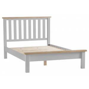 Tenby Grey Painted Furniture Super King 6ft Bedstead
