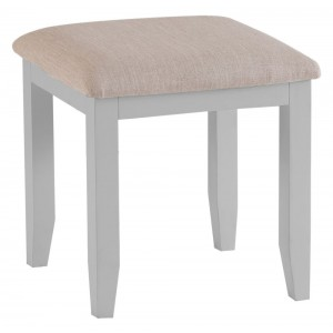 Tenby Grey Painted Furniture Dressing Table Stool