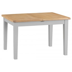 Tenby Grey Painted Furniture 1.2m Butterfly Extending Table