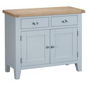 Tenby Grey Painted Furniture 2 Door 2 Drawer Sideboard