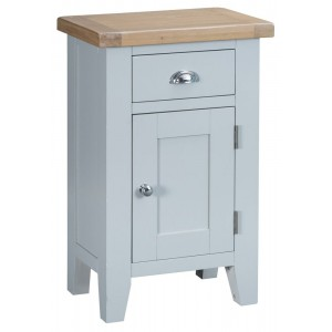 Tenby Grey Painted Furniture Small Cupboard