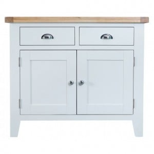 Tenby White Painted Furniture 2 Door 2 Drawer Sideboard