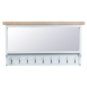 Tenby White Painted Furniture Large Hall Bench Top