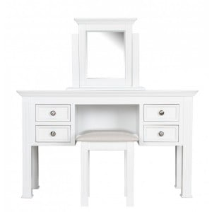Windsor Elegance French Painted Furniture Dressing Table Set