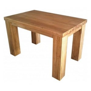 Homestyle Trend Oak Furniture Medium Dining Table 150cm Contempo Set