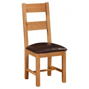 Devonshire Clovelly Oak Furniture Dining Chair