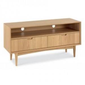 Bentley Designs Oslo Oak Furniture Entertainment Unit