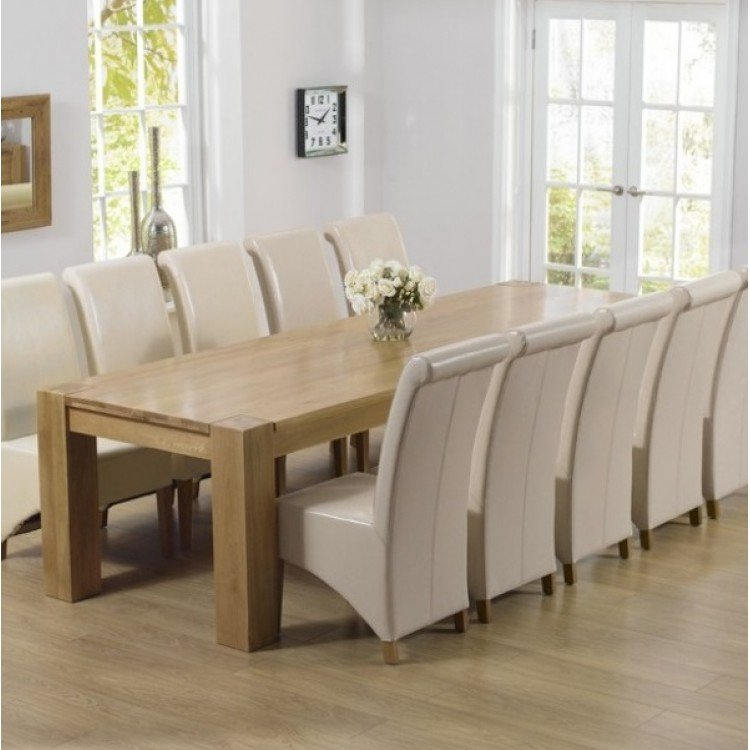 Extra Large Oak Dining Sets