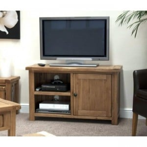 Homestyle Rustic Style Oak Furniture TV Plasma Unit