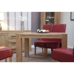 Homestyle Trend Oak Room Furniture Small Dining Table And Chairs Set