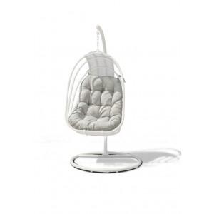 Maze Rattan Amalfi Garden Hanging Chair White