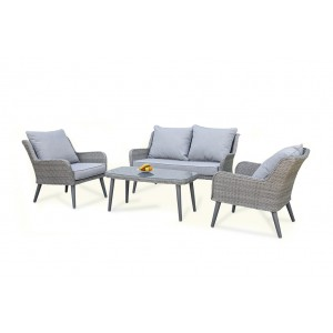 Maze Rattan Florence Garden 2 Seat Sofa Set