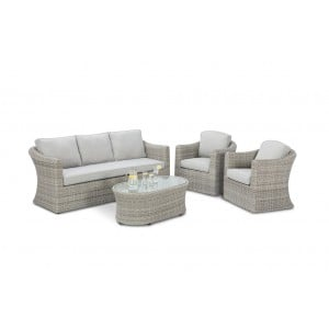 Maze Rattan Oxford 3 Seater Sofa Set