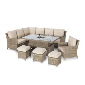 Enjoyable Rattan Corner Dining Sets Fusion Furniture Inzonedesignstudio Interior Chair Design Inzonedesignstudiocom